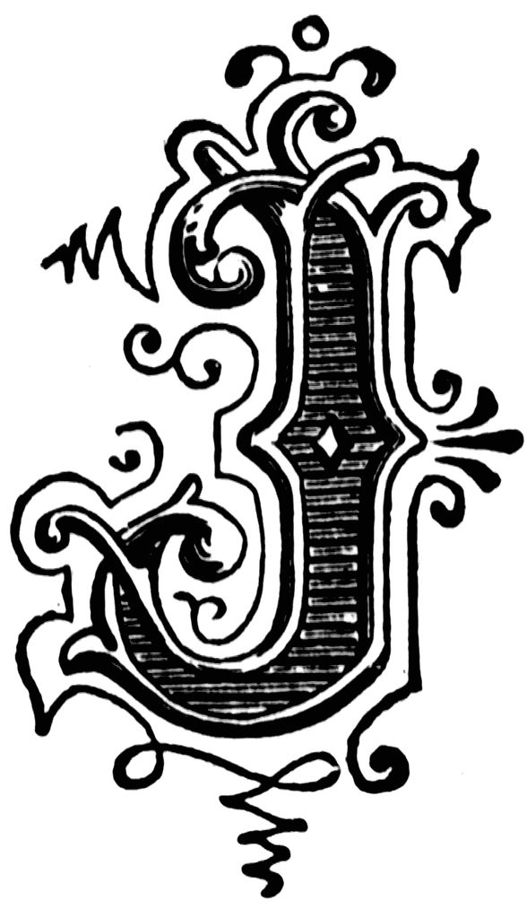 Lettering clipart ornament On Pinterest letter about 22