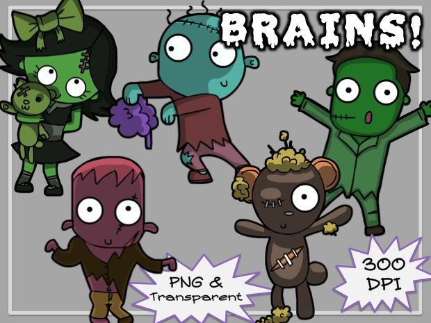Brain clipart zombie brain Best Sea dangerous Pinterest be