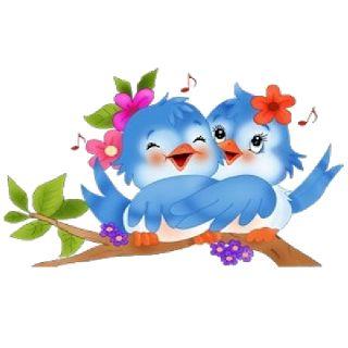 Blur clipart love bird Are Art Birds Cute Cartoon
