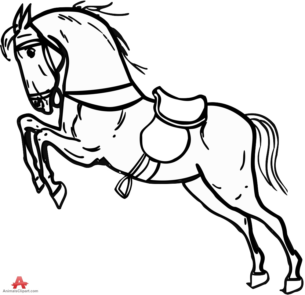 Legz clipart outline Legs Horse Clipart Standing Legs