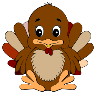 Pilgrim clipart cute happy thanksgiving turkey  is turkey turkey Free