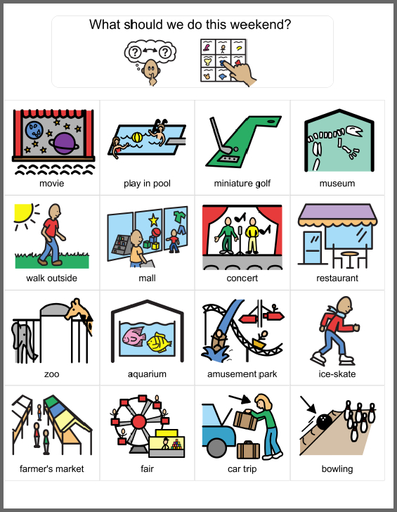 Leisure clipart active living Autism Play Leisure With and