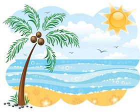 Scenery clipart summer scenery #4