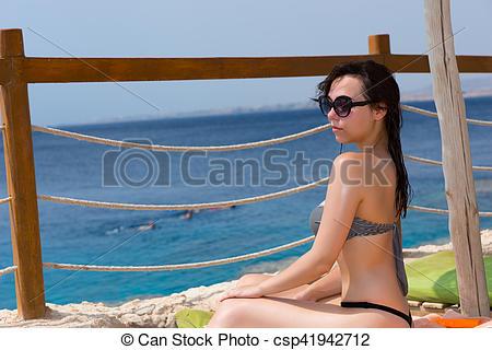 Leisure clipart sun tanning #2