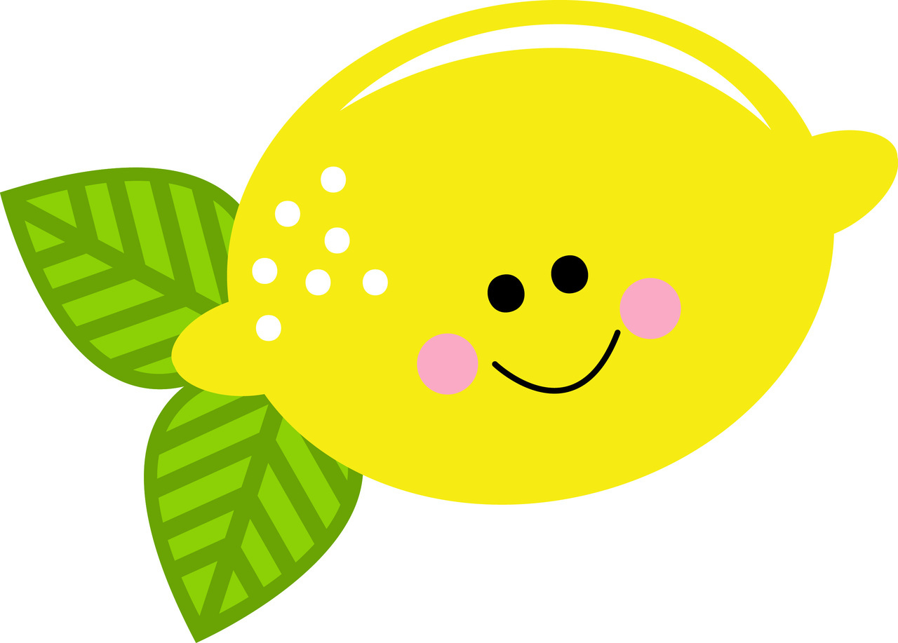 Lemon clipart cute Face cute collection with clipart
