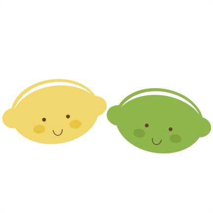 Lemon clipart cute Lemon svg cute  lemon