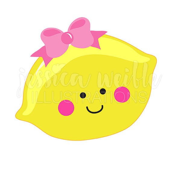 Lemon clipart cute Cutie with Graphics Clipart Lemon