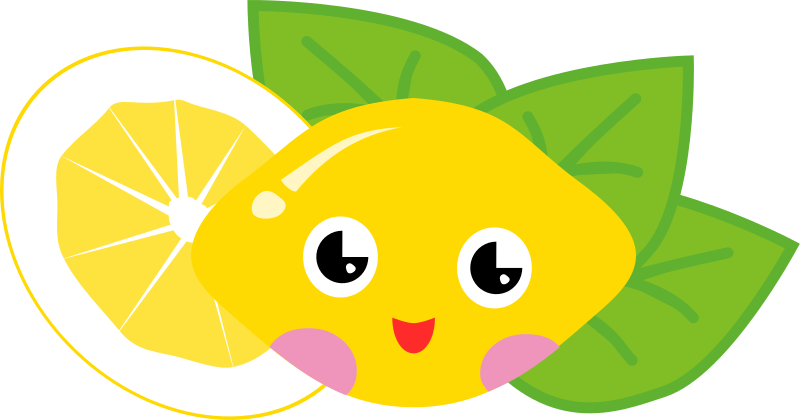 Lemon clipart cute Art Clip Cartoon Lemon