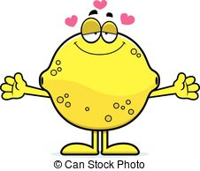 Lemon clipart face Cute collection Lemon face clipart