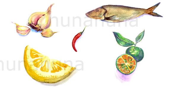 Lemon clipart kalamansi Fried calamansi fish philippine lemon