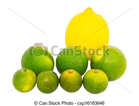 Lemon clipart kalamansi Lemon Lemon and csp16183646 Stock