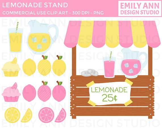 Lemon clipart stand Pink Ryali's SALE images best