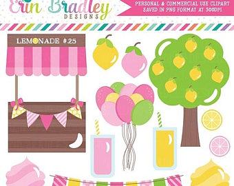 Lemon clipart stand Art Clip SALE Birthday 80%