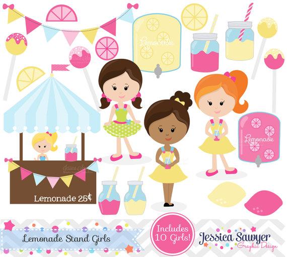 Lemon clipart stand Invitation design mason art Studio