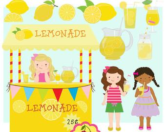 Lemon clipart stand Use Lemon Etsy Lemonade Commercial