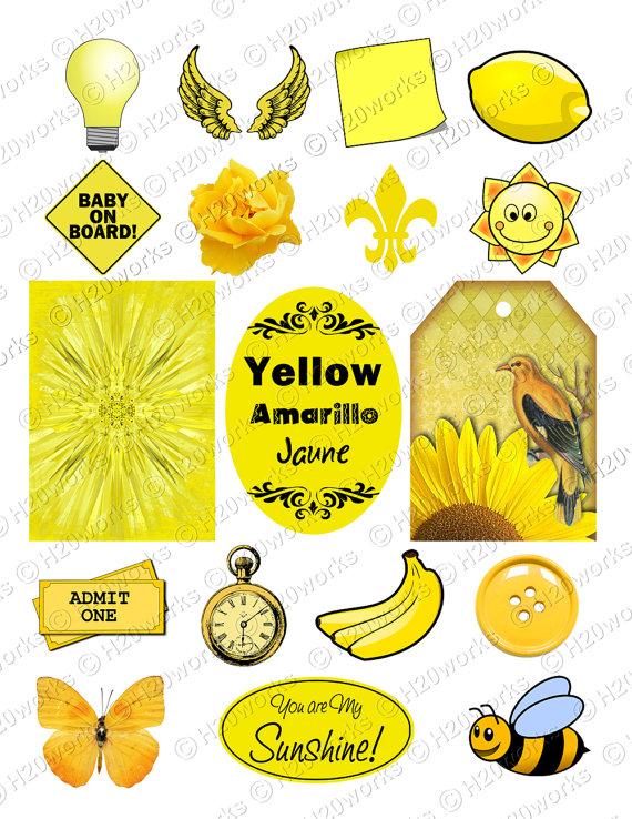 Yellow Dress clipart yellow object Objects Sheet DOWNLOAD Jaune 8