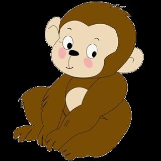 Baboon clipart silly monkey Monkey Monkey  Cartoon Cakes