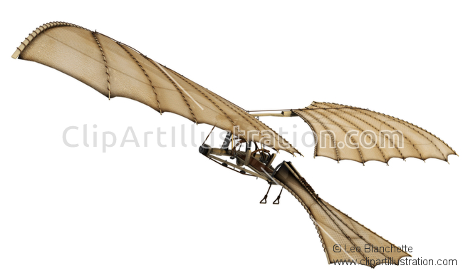 Leonardo Da Vinci clipart Leonardo Da Vinci Inventions Leonardo by Flying Da Machine
