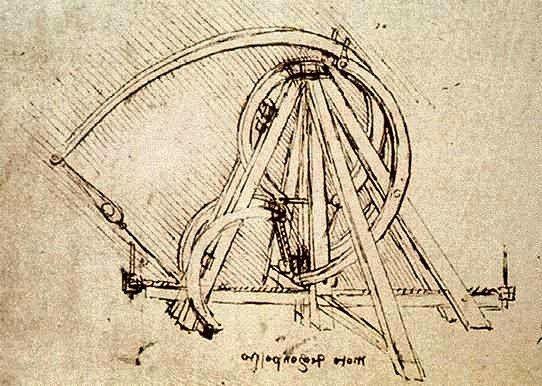 Leonardo Da Vinci clipart Michelangelo Catapult 59 images on Da