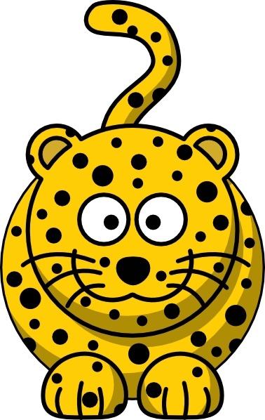 Leopard clipart Vector clip Free art art