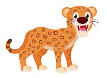 Leopard clipart Clipart clipart Leopard Size: Free