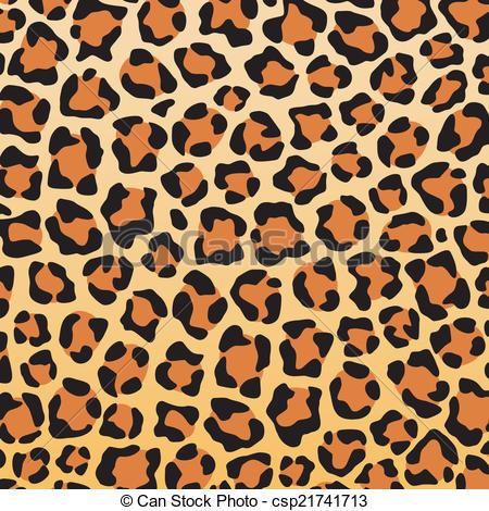 Skin of leopard Clip texture