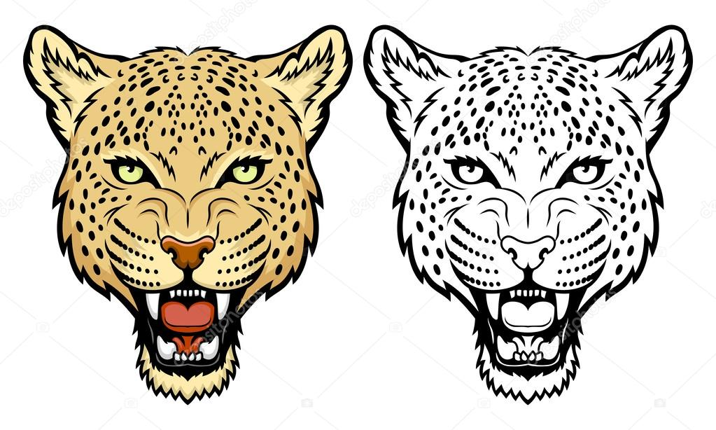 Leopard Skin clipart mascot #3