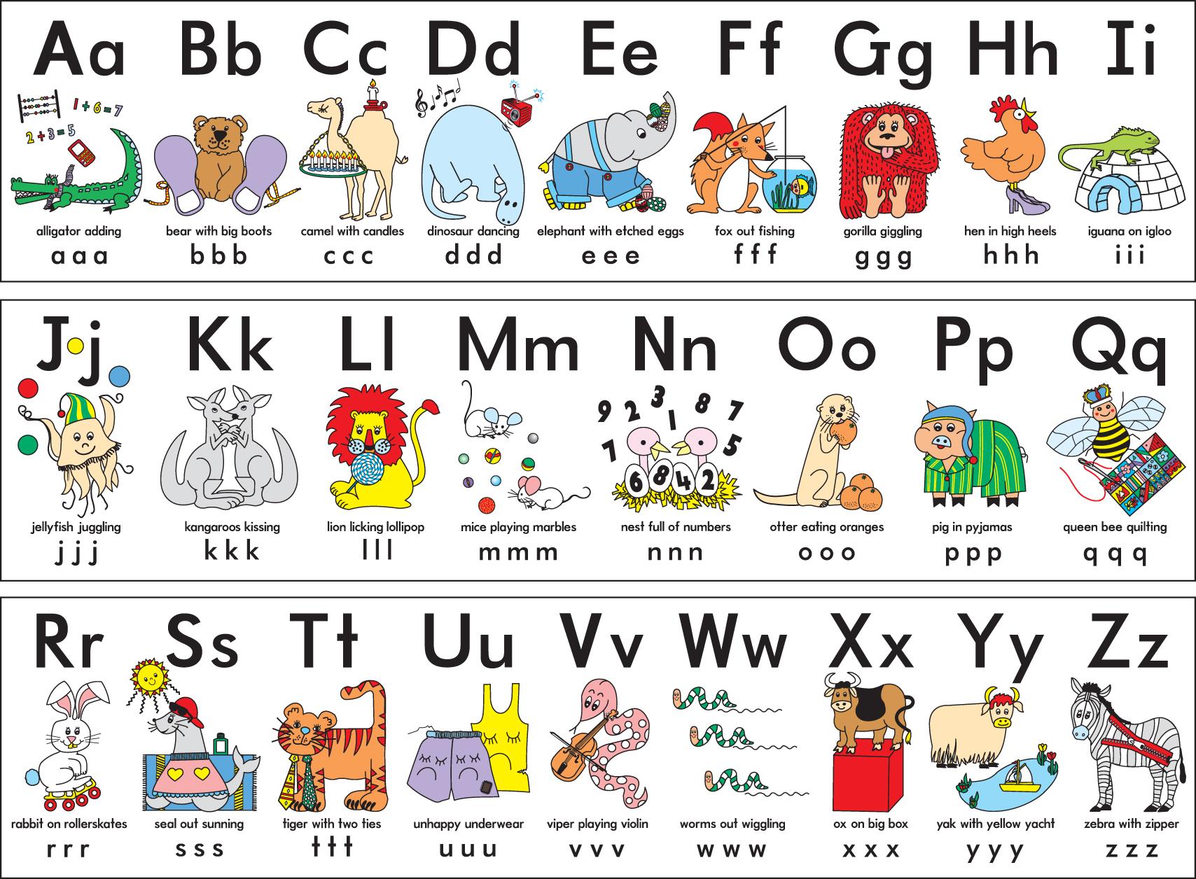 Letter clipart abc Alphabet the the clip alphabet