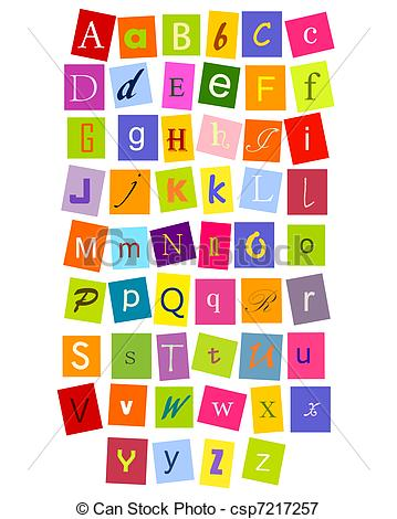 Letter clipart abc Stock clipart Illustrations BBCpersian7 Abc