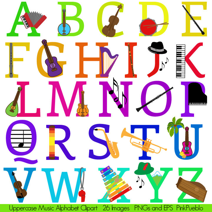 Notebook clipart abc Instruments with this Music item?