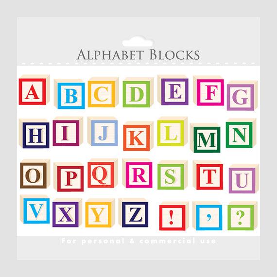 Letter clipart alphabet block Alphabet for clipart clip alphabet