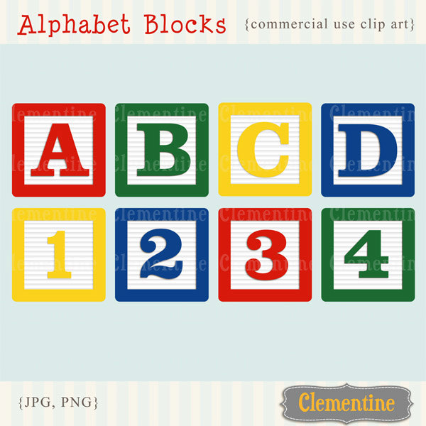 Letter clipart alphabet block Blocks images clip Alphabet blocks