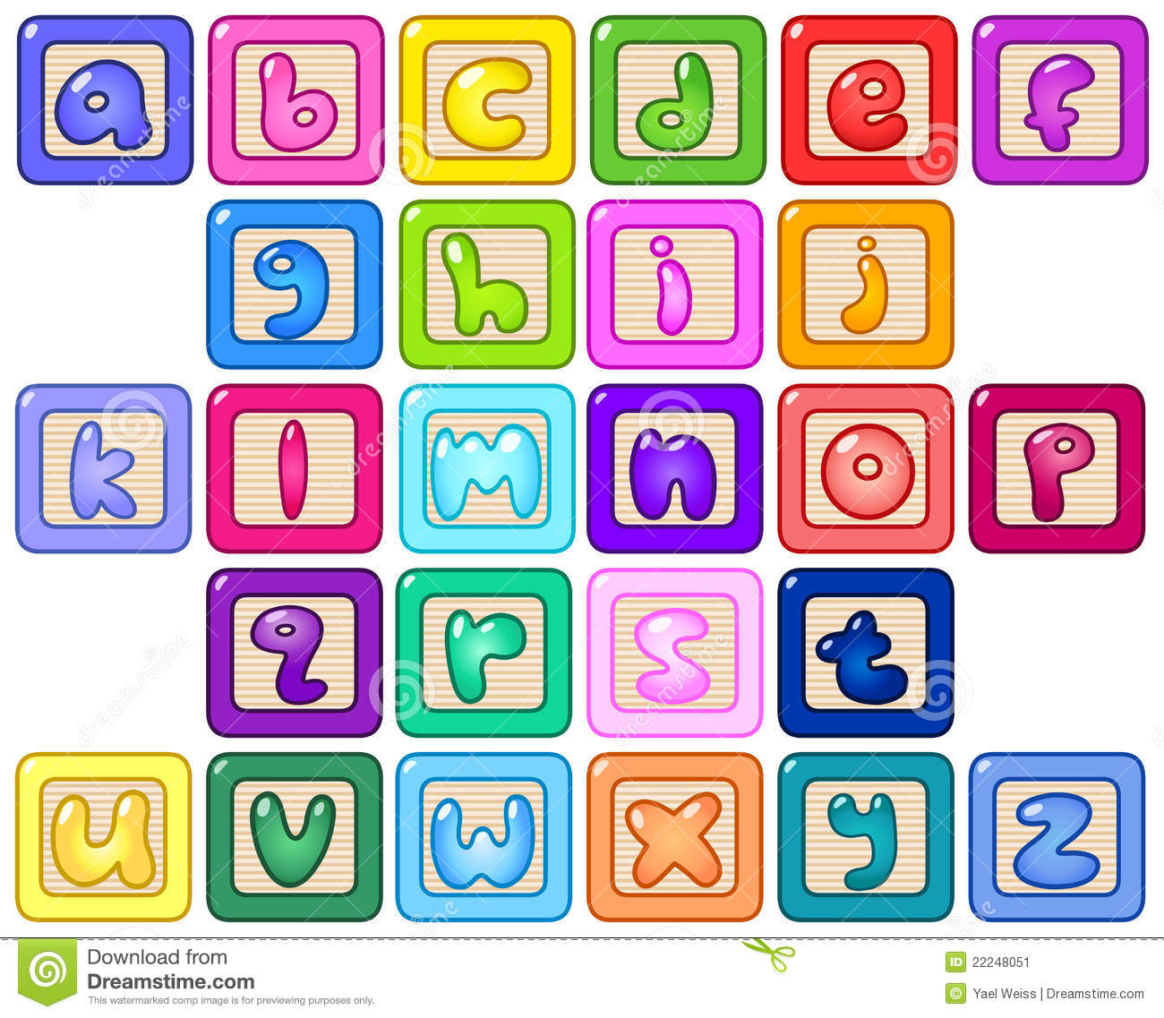 Letter clipart alphabet block Kid alphabet blocks Clipart Clipart
