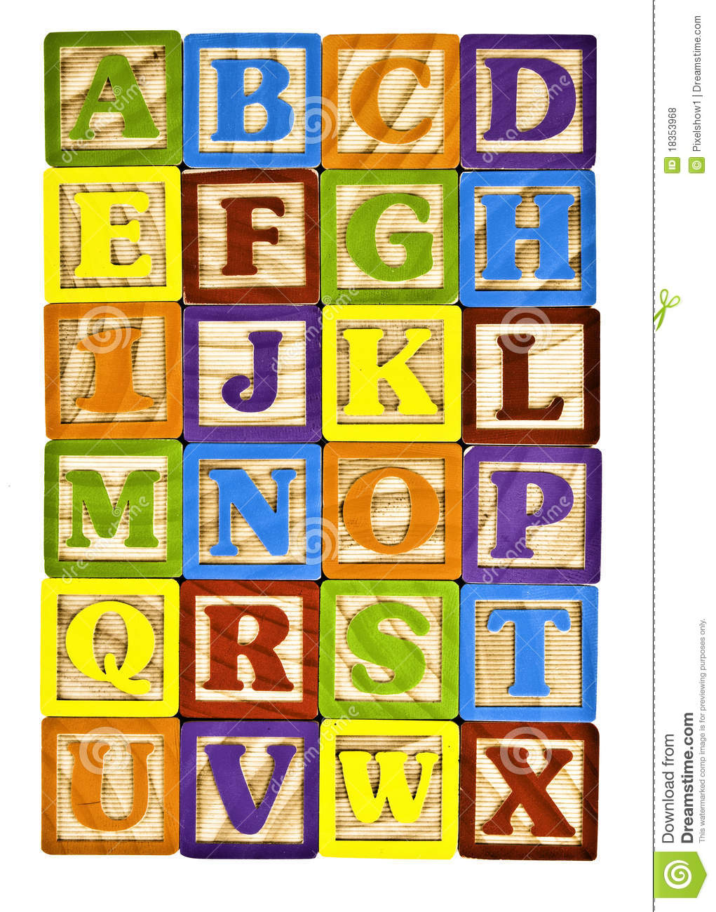 Letter clipart alphabet block Collections Kid letter clipart Block