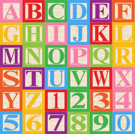 Letter clipart alphabet block About $7 Art by clip