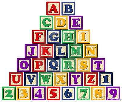 Letter clipart alphabet block Block Kid Alphabet Block in