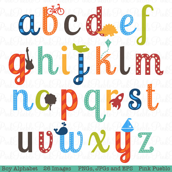 Lettering clipart writing letter Use Letters Scrapbooking and Commercial