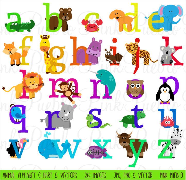 Safari clipart alphabet Font alphabet clipart Safari collection