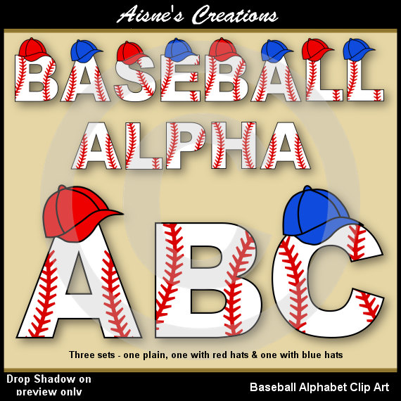 Letter clipart baseball Also Alphabet/Letters • numbers catalog