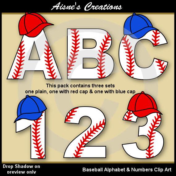 Letter clipart baseball · art & Alphabet