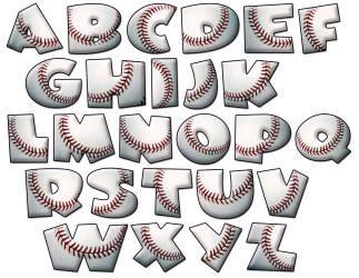 Letter clipart baseball 135 alphabet Pinterest images and