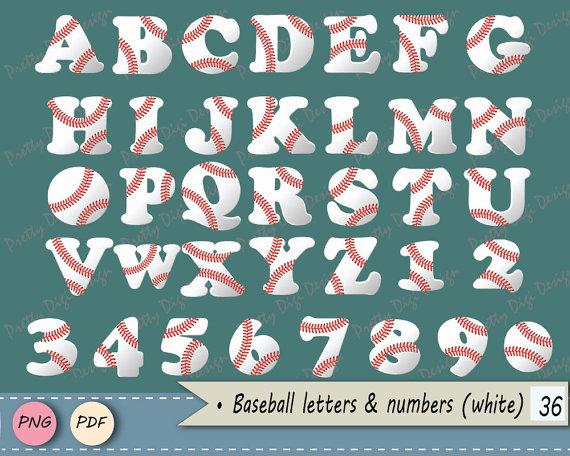 Letter clipart baseball Art letters art PNG Game