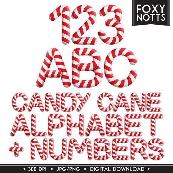 Letter clipart candy Art cane clip Letters letters