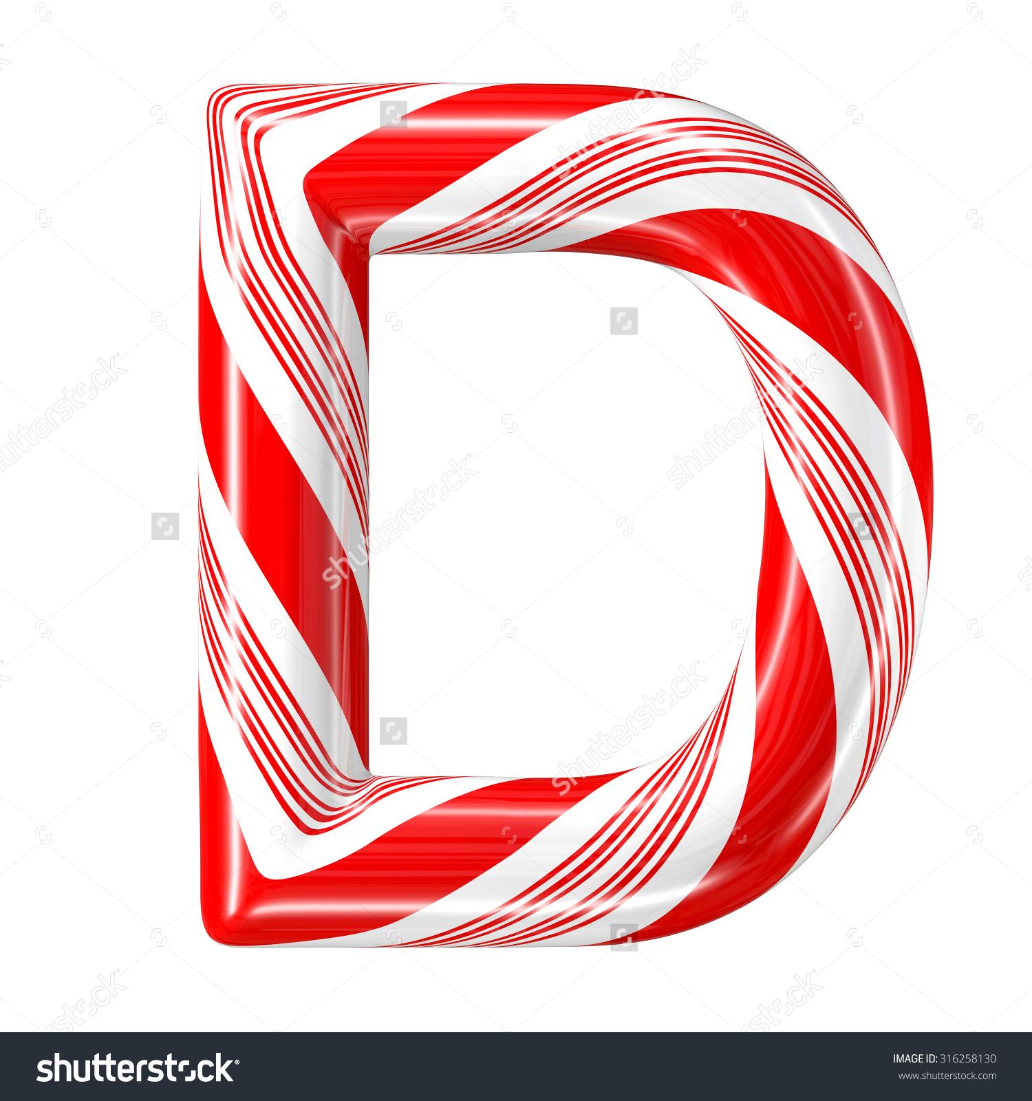 Letter clipart candy Art cane letters Letters alphabet