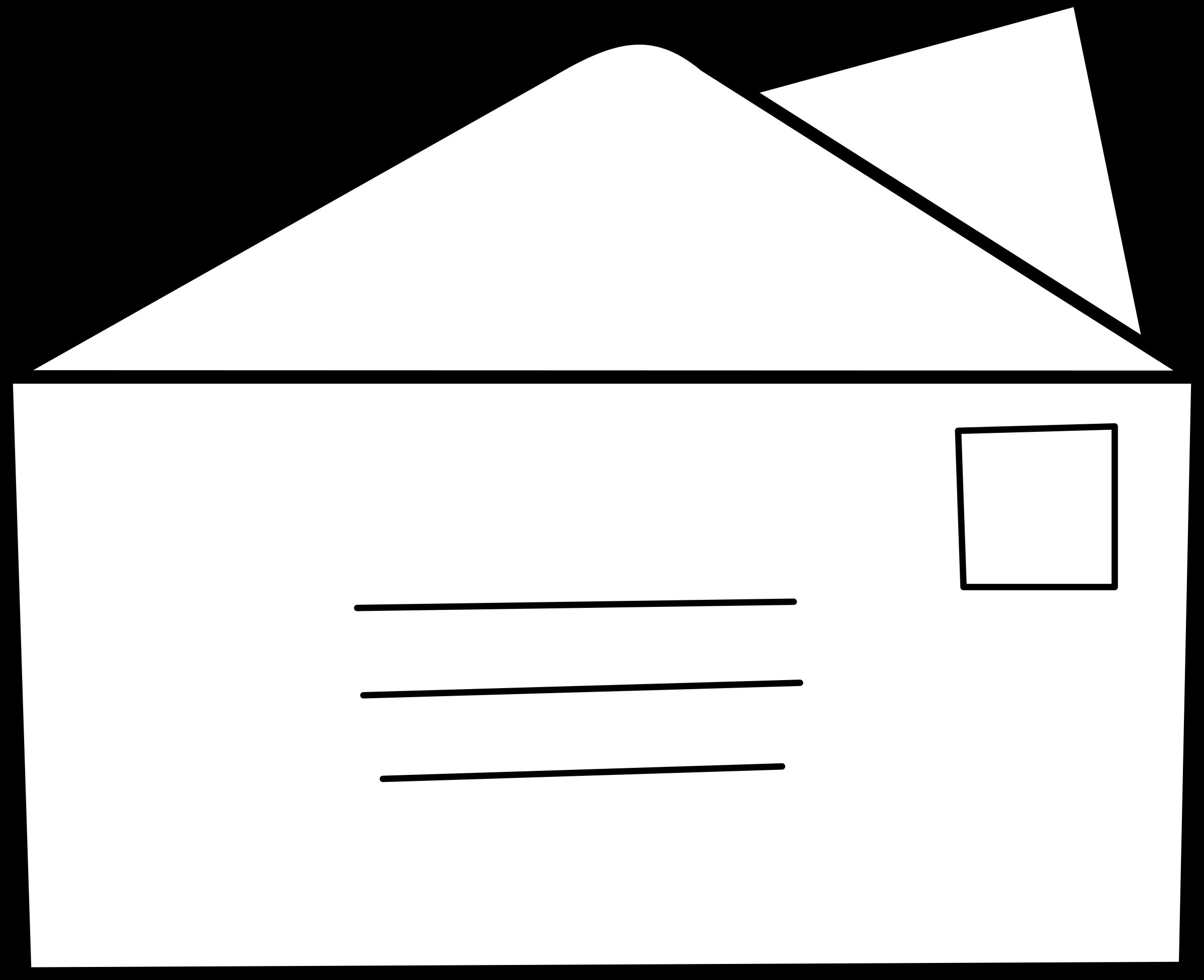 Letter clipart correspondence / lettre letter / letter