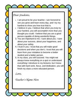 Letter clipart dear letter Letter great the of students
