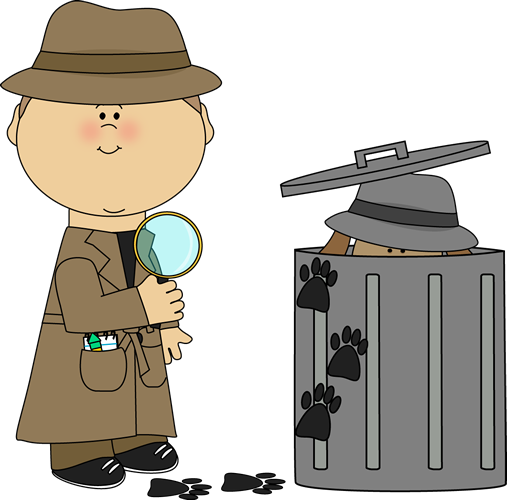 Letter clipart detective Clipart Looking Looking Clues Clues