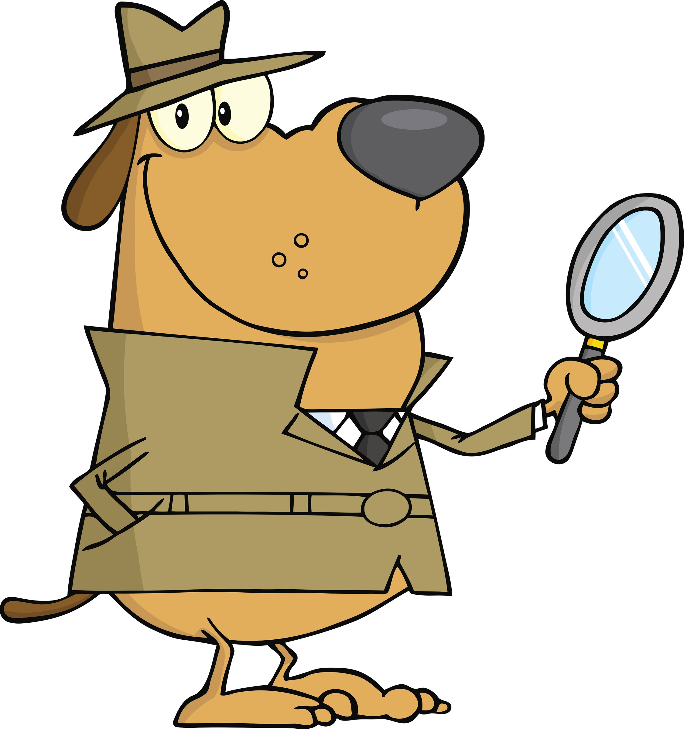 Sherlock Holmes clipart kid detective Dog Clipart  Detective