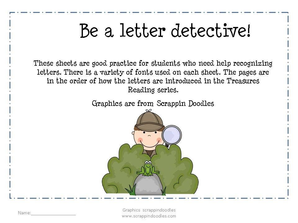 Letter clipart detective For clip detective Letter Gallery