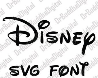 Letter clipart disney Alphabet SVG Clipart SVG Disney